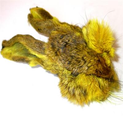 hare masks picric yellow