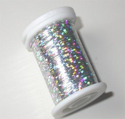 Small Holographic Tinsel - Silver
