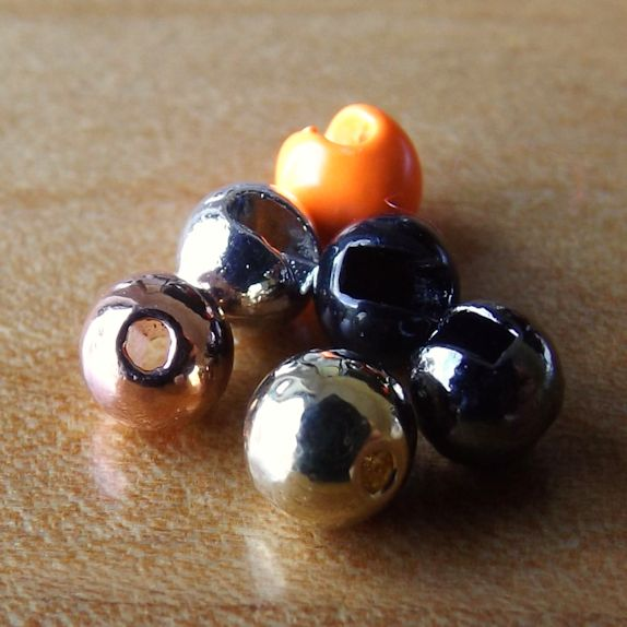 Slotted Tungsten Beads 3.5mm - Range