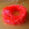 Medium Crystal Hackle - Flame Red