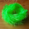 Medium Crystal Hackle - Intense Lime