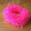 Medium Crystal Hackle - Pink