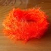 Medium Crystal Hackle - Ultimate Fire Orange