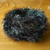 Pearl Crystal Hackle - Claret