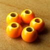 Brass Hotheads 3.2mm - Vintage Orange