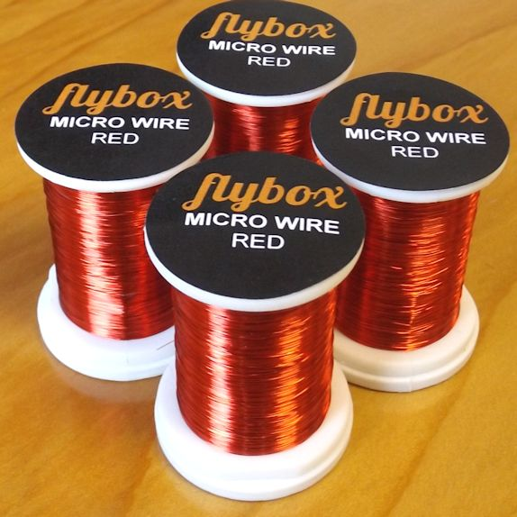 micro wire -red