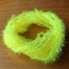 Small Crystal Hackle - Fl Yellow