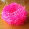 UV Crystal Hackle - Fl Pink