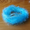 Pearl Crystal Hackle - Kingfisher Blue