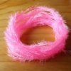 Small Crystal Hackle - Baby Pink