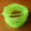 Small Crystal Hackle Pearl - Fl Chartreuse