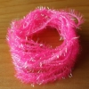 Small Crystal Hackle Pearl - Fl Pink