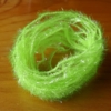 Small Crystal Hackle UV - Fl Chartreuse