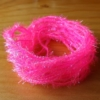 Small Crystal Hackle UV - Fl Pink