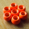 3.2mm Tungsten Hotheads - Fl Red