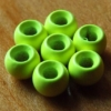 3.2mm Tungsten Hotheads - Fl Chartreuse