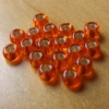 Glass Beads-Orange