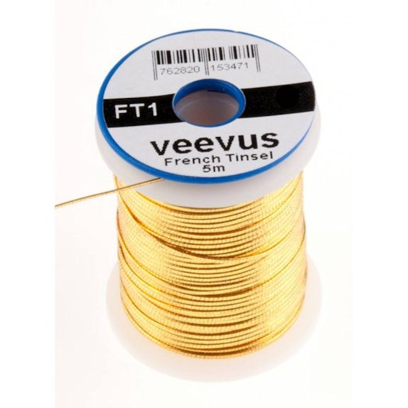 Veevus French Tinsel - Gold XS
