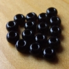 Glass Beads -Black