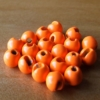 Slotted Tungsten Beads 3.5mm - Orange