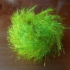 Large Shimmer Hackle - Fl Yellow