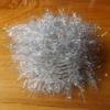 Large Shimmer Hackle - UV Diamond White
