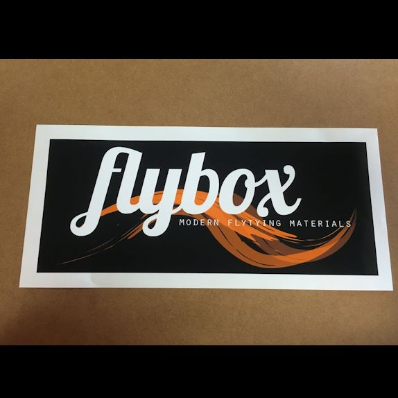 Flybox Vinyl Boat Box Sticker