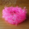Medium Crystal Hackle - Baby Pink