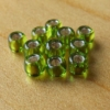 Glass Beads - Lime