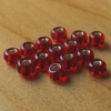 Glass Beads - Red