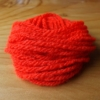 Fluorescent Wool - Fl Red