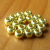 Glass Beads - Metallic Gold