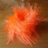 Large Crystal Hackle - Fl Orange