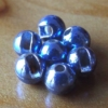 Slotted Tungsten Beads 3mm - Pale Purple