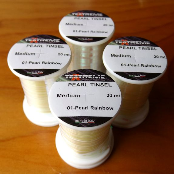 Textreme Medium Pearl Tinsel - Pearl Rainbow