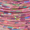 """Holographic Fibers (1/16"""") H148-Holo Pink"""