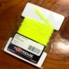 Gummy Chenille 6mm 121-Fluo Yellow